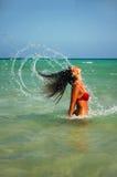 Wasser-Nymphe Lizenzfreies Stockfoto