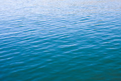 Wasser-Oberflächenkräuselungen Stockbilder