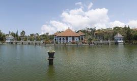 Wasser-Palast Taman Soekasada Ujung, Panorama-Ansicht Lizenzfreies Stockfoto