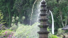 Wasser-Palast von Tirta Gangga Markstein in Bali Karangasem, Indonesien stock video footage