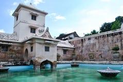 Wasser-Palast in Yogyakarta Stockfotos