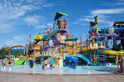 Wasser-Park Lizenzfreie Stockfotografie