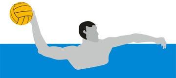 Wasser Polo Sport Lizenzfreie Stockfotografie