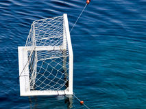 Wasser-Polo Ziel Stockbilder