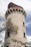 Wasser-Pumpen-Turm in Korosten, Ukraine Stockfotografie