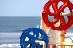 Wasser-Räder Stockfotografie
