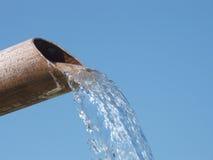 Wasser-Rohr Stockbild