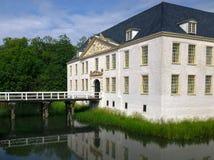 Wasser-Schloss Dornum Stockbild
