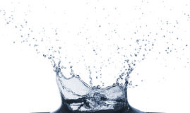 Wasser slpash Stockfoto