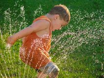 Wasser-Spaß Stockfoto