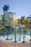 Wasser-Spiel gerieben in der Ernte Caye stockbilder