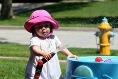 Wasser-Spiel-Spaß Stockfotos