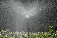 Wasser spinger für Anlagen stockfotos