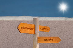 Wasser-Sport Stockfotografie