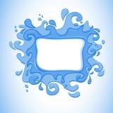 Wasser-spritzen Sie Stockbilder