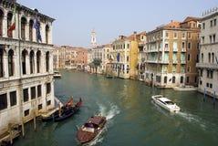 Wasser-Strasse in Venedig Lizenzfreies Stockfoto
