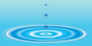 Wasser-Tropfen Lizenzfreie Stockbilder