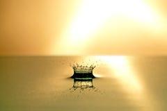 Wasser-Tropfen Stockfoto