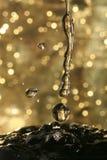 Wasser-Tropfen Stockfotos