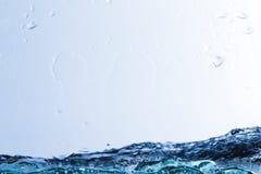Wasser, Tropfen, sprüht, spritzt, strömt, fließt, Abstraktion, halbe Note Lizenzfreie Stockbilder