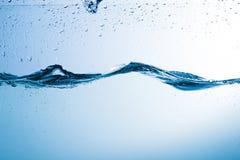 Wasser, Tropfen, sprüht, spritzt, strömt, fließt, Abstraktion, halbe Note Lizenzfreie Stockfotografie