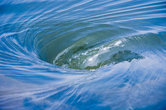 Wasser-Turbulenz Lizenzfreie Stockbilder