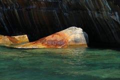 Wasser u. Sandstein Lizenzfreie Stockbilder