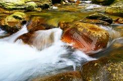 Wasser u. Stein Stockfoto