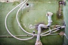 Wasser und Abwasserrohre Lizenzfreie Stockfotografie