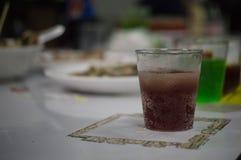 Wasser und alkoholfreie Getränke Lizenzfreies Stockfoto