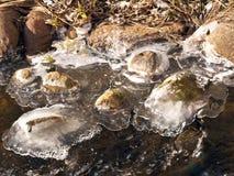 Wasser und Eis Stockfotografie