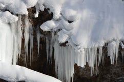 Wasser und Eis 1 Lizenzfreies Stockfoto