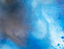 Wasser- und Farbenbeschaffenheit stockbild