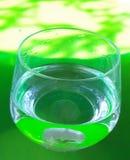 Wasser und Grün Stockfotografie