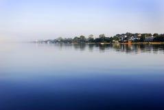 Wasser- und Inselauszug Lizenzfreies Stockbild