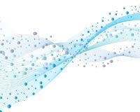 Wasser und Luftblasen Lizenzfreie Stockbilder