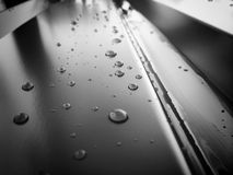 Wasser- und Metallsache stockfotografie