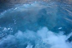 Wasser und Rauch stockbild