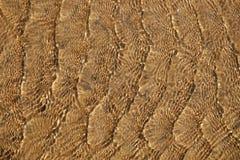 Wasser und Sand Stockfoto