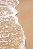 Wasser und Strand Stockfoto