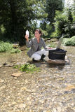 Wasser und Umgebung lizenzfreies stockbild