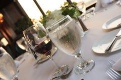 Wasser und Wein Lizenzfreies Stockbild