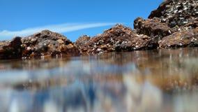 Wasser verwischt durch lange Berührung Lizenzfreie Stockfotografie