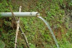 Wasser vom Berg für die Landwirtschaft Lizenzfreie Stockfotografie