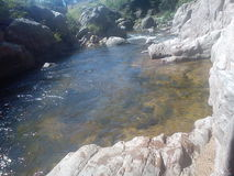 Wasser von den Sägen Lizenzfreies Stockbild