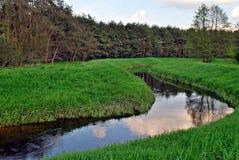 Wasser von Fluss lizenzfreie stockfotografie