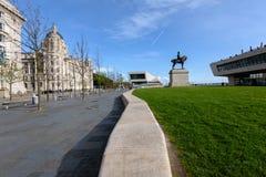 Wasser vorderes Liverpool, England Großbritannien Stockfotos