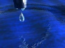 Wasser-Welt Stockbild