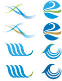 Wasser-Zeichen Stockbilder