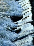 Wasserabfluß Stockbild